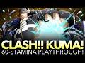 CLASH!! KUMA 60-STAMINA PLAYTHROUGH! (One Piece Treasure Cruise - Global)
