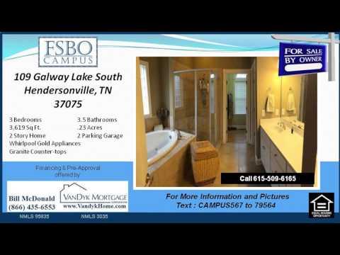 3 Bedroom House for Sale near Nannie Berry Elementary School in Hendersonville TN