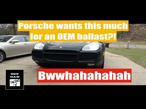 Porsche Cayenne: Headlight Ballast Part 3