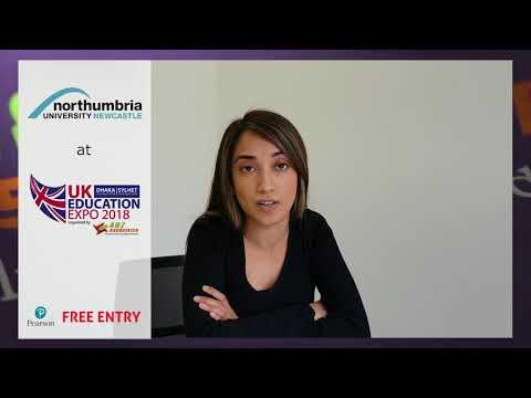 Northumbria University at UK Education Expo 2018