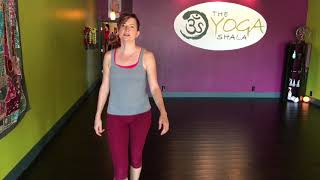 Natural gait uses flexibility, not strength