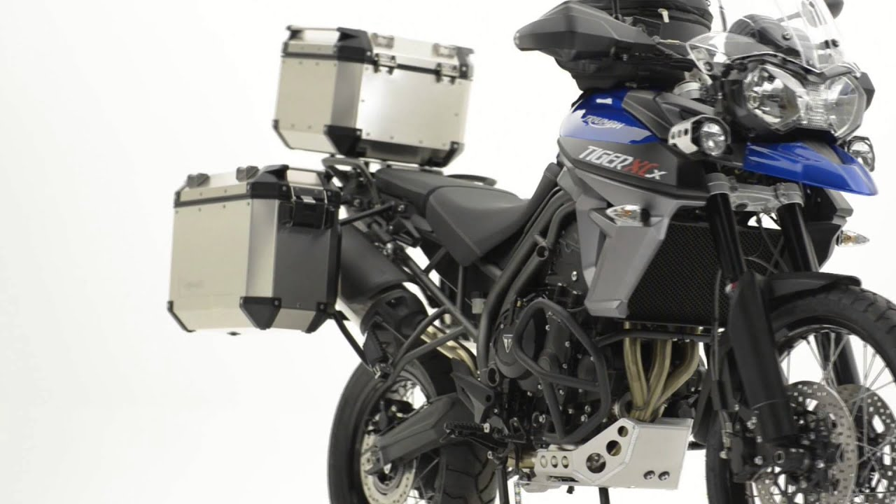 triumph motorcycles - tiger accessories - youtube