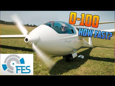 Glider FES engine start on ground