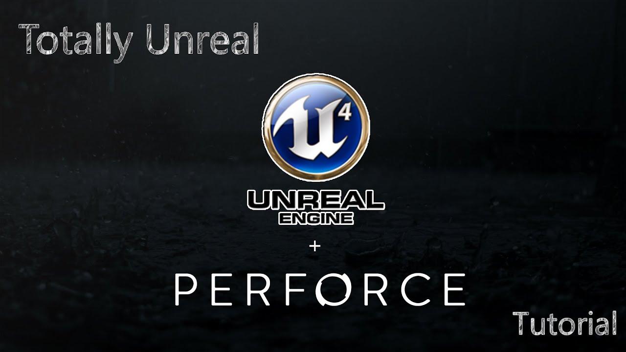 Unreal Engine 4 / Perforce Setup - Pt 1 (Server Setup)