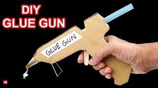 How to Make a Hot Glue Gun at Home - DIY GLUE GUN