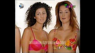 Demet Akalın, Gizem Özdilli ve henüz adı bilinmeyen Petek Dinçöz, Kanal D Televolede (Ekim 1998)