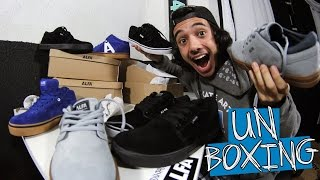 Unboxing - Alfa Skate #6   Tênis até umas hora!