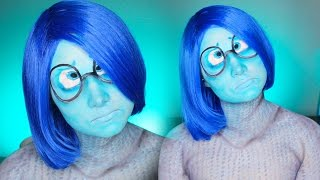 Sadness Inside Out Makeup Tutorial/Cosplay