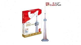 """Torre Nacional de Canadá"" | ""Canada´s National Tower"" - Puzzle 3D"