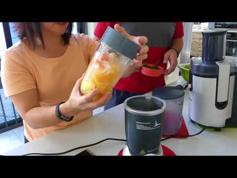 How To ... Juice Fruits and Vegetables for Health - J.K.Chua