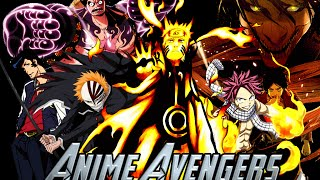 Anime Avengers – Worlds Collide [Crossover AMV]