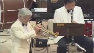 なにわのブラスバンド F'Band Wind Orchestra 80歳のトランペッター 13t...