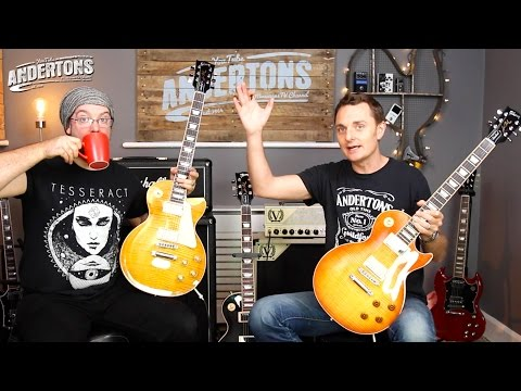 Gibson 2016 Les Paul Standard Trad Spec vs High Performance Spec
