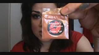 Chocolate Sherbet Using Mayra's Cosmetics