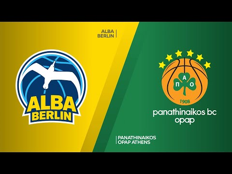 ALBA Berlin - Panathinaikos OPAP Athens Highlights | Turkish Airlines EuroLeague, RS Round 26