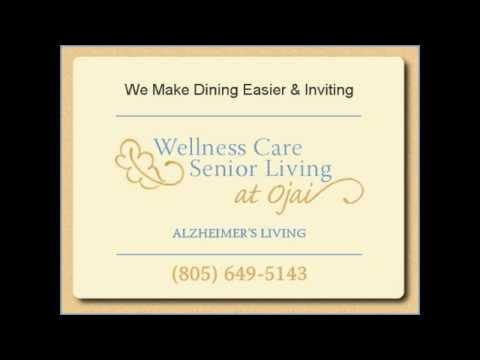 dining at wellness care senior living at ojai - youtube