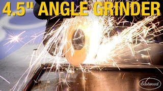 "Essential Tools For Your Shop: 4.5"" Angle Grinder - Cut, Grind, Strip! Eastwood"