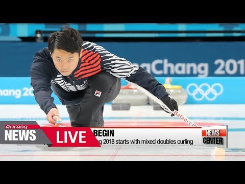 [LIVE/NEWSCENTER] First event of PyeongChang 2018 starts with mixed doubles curling - 2018.02.08