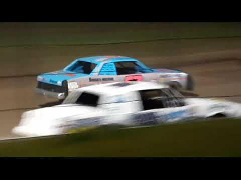 Rice Lake Speedway Aug 31 Pure Stock Feature part 1