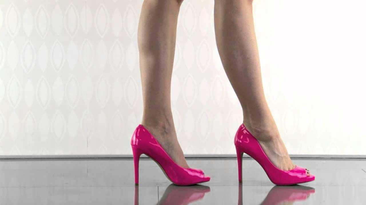 Fluorescent Pink Heels