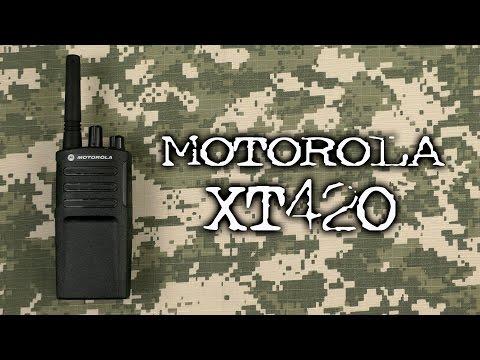 Распаковка Motorola XT420