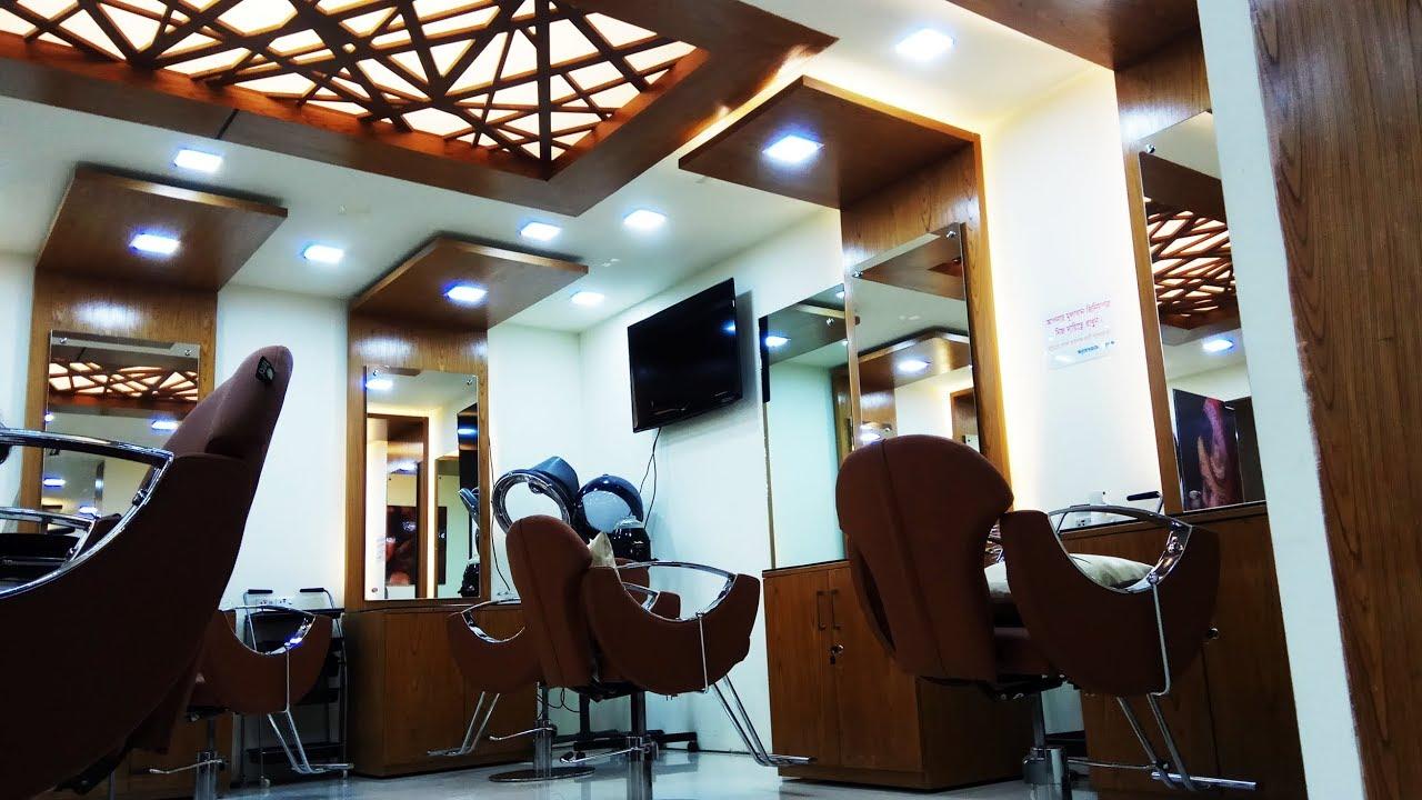 Parlor Interior Design At Dhanmondi Dhaka Zaraa S Beauty Lounge By Inexterior Bangladesh Youtube