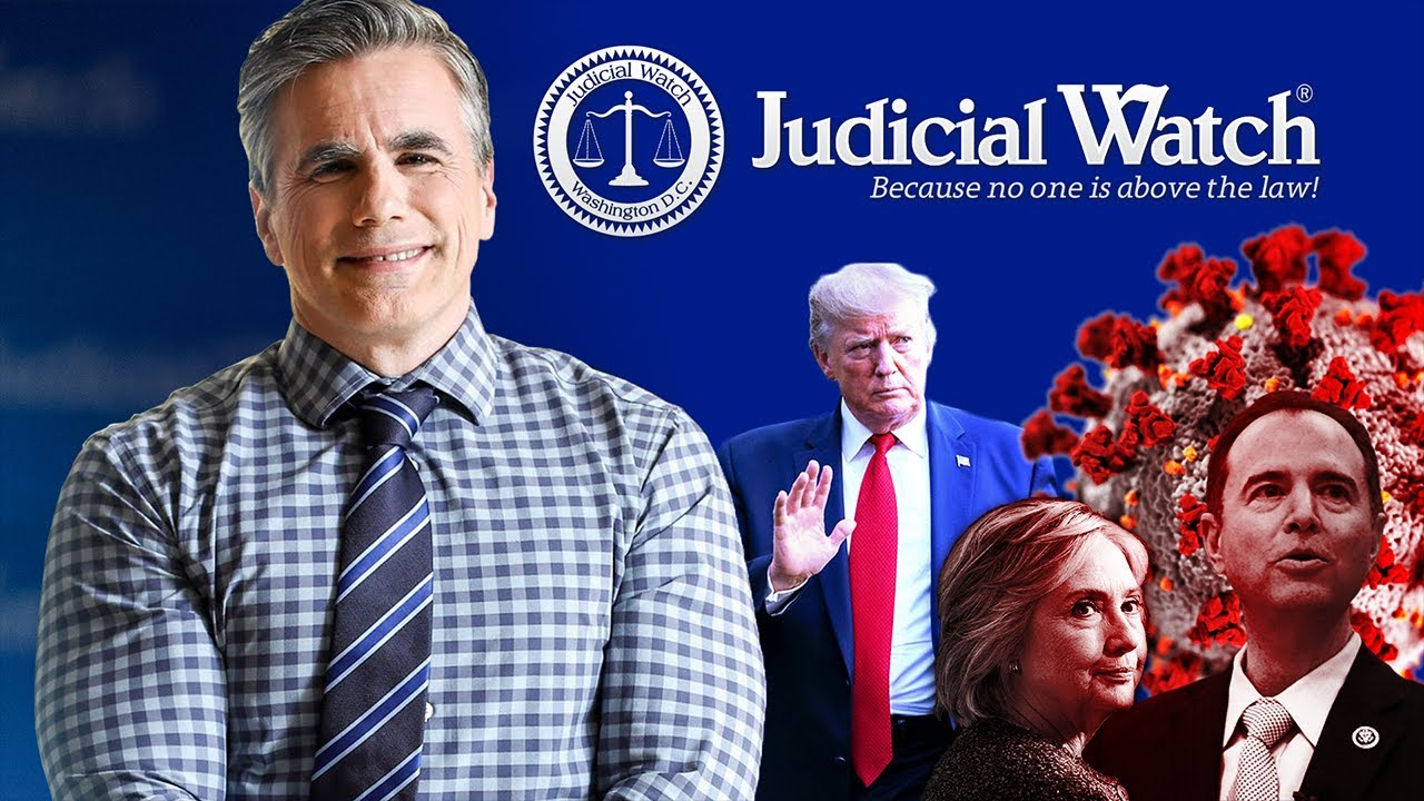Tom Fitton on #Coronavirus, Adam Schiff Stonewalling Judicial Watch, & the #ClintonEmailScandal