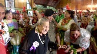 Beloved Queen Mother Her Majesty Queen Halaevalu Mata'aho - Kingdom of Tonga