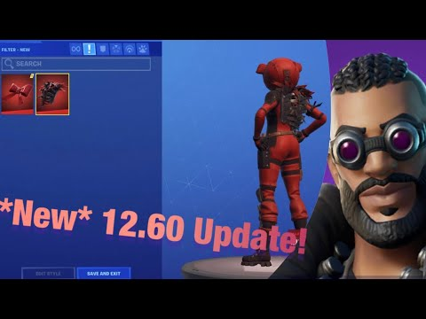 *New* 12.60 Update (Storm The Agency Challenges, And Cosmetics)