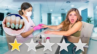 I Went to the WORST REVIEWED NAIL SALON in my City ( 1 STAR ) 💅🏼  Piper Rockelle