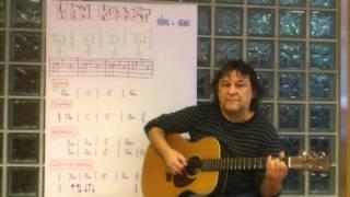 Ham kummst (Seiler & Speer) - Gitarren Tutorial (Akkorde/Zupfmuster/TABs) - Helmut Bickel
