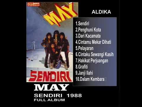 MAY SENDIRI  HAKIKAT 1988  FULL ALBUM
