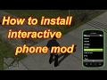 How to install Interactive Phone Mod in gta sa like gta 5