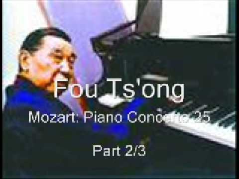 Fou Ts'ong/Mozart: Piano Concerto 25/Desarzens/Vienna State   Opera Orchestra/Pt2/3