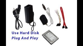 How to Use Hard Disk as USB Flash Drive[Plug And Play]/Convert HDD to USB