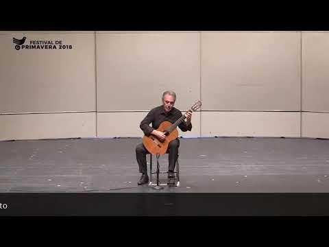 Concierto De Eduardo Fernández En El XVIII Festival De Guitarra 2018. Parte 1/2 (07 Marzo 2018)