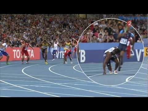 World Record 4x100m Men relay Jamaica - Record du monde relais 4x100m Homme Jamaique - Daegu