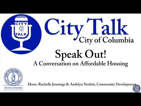 """City Talk: Speak Out! """"A Conversation on Affordable Housing"""""""