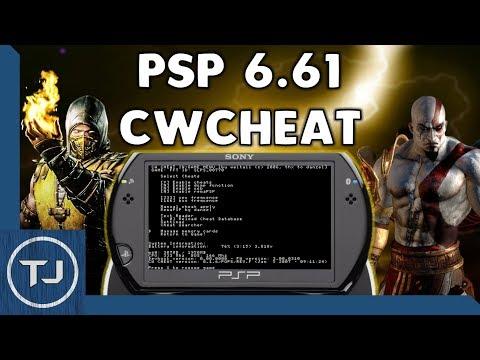 PSP 6.61 Install CWCheat Plugin (Cheat & Hacks) 2017!