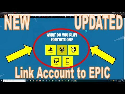 link your epic games account