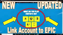 how to link an fortnite epic account to your ps4 account - Free