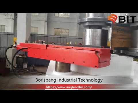 Working video of 3D guide roll of BIT profile bending machine