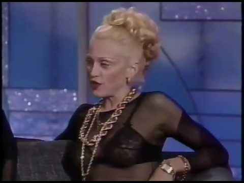 Madonna On The Arsenio Hall Show