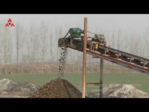 A stone crushing production line,made in china,Jiaozuo Zhongxin Heavy Industrial Machinery Co.,Ltd .