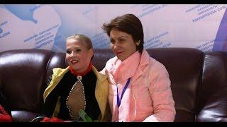 Darya Sirotina coach Elena Nazarenko FP