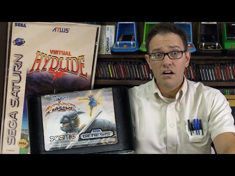 Super Hydlide & Virtual Hydlide (SEGA Genesis) - Angry Video Game Nerd (AVGN)