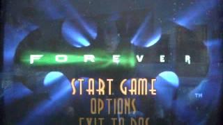 BATMAN FOREVER THE ARCADE GAME PC DOS REVIEW