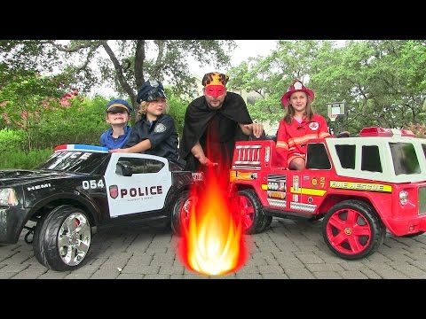 Little Heroes 5 - The Cops, The Fire...