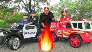 Repeat youtube video Little Heroes 5 - The Cops, The Fire Engine and The Return of The Spark