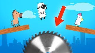 DODGE THE SNEAKY TRAPS CHALLENGE! (Ultimate Chicken Horse)